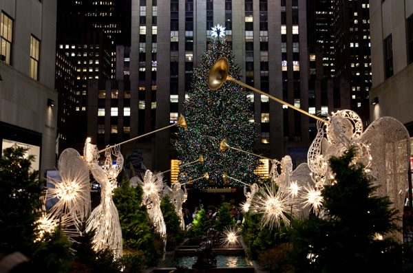 Rockefeller and Times Square Holiday Tour: 50 Minutes